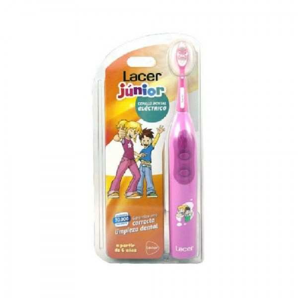 cepillo dental electrico lacer junior