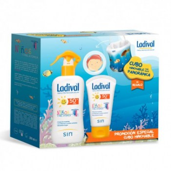 ladival-ninos-duplo-spray-spf50-200ml-crema-50ml-regalo-cubo